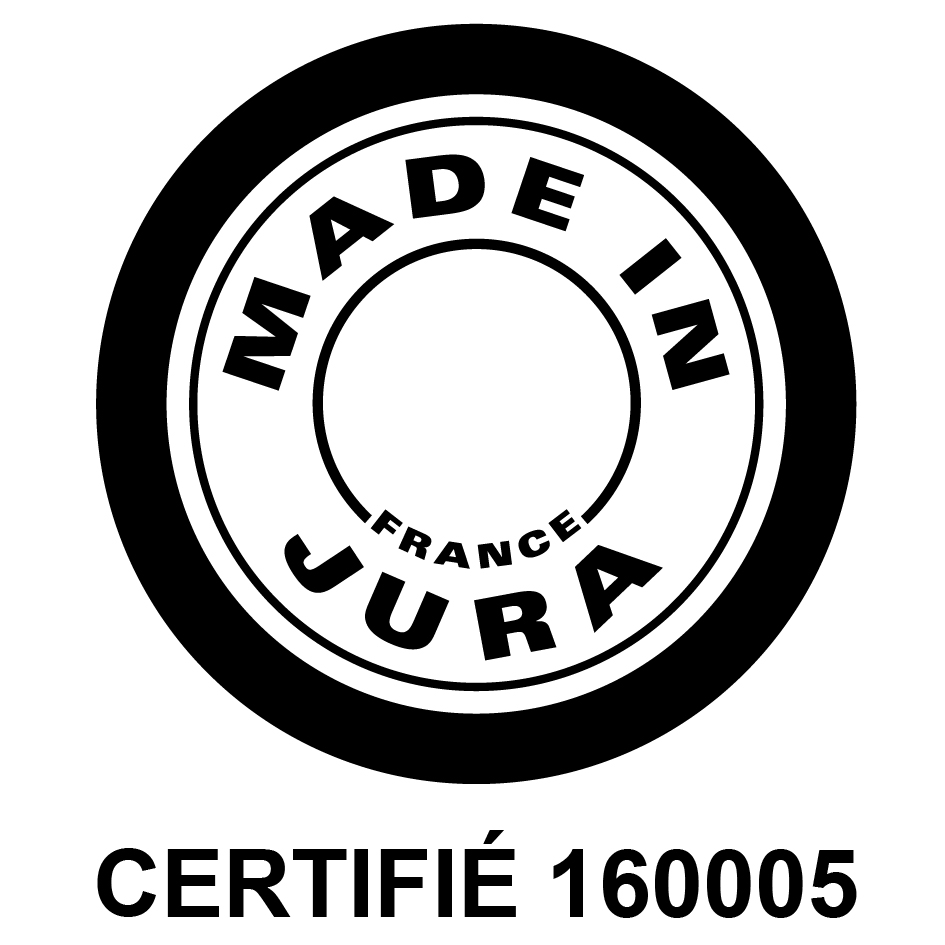logo made in Jura certifié no65 Toyman